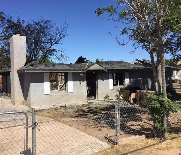 Home Lost To Fire